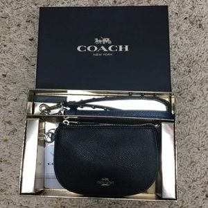 NWT Mini Boxed Coach pouch